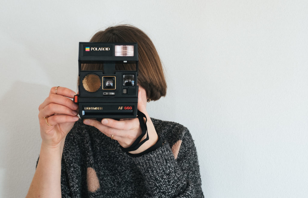 Polaroid, Silbersalz, analoge Fotografie, Fotograf, Südtirol